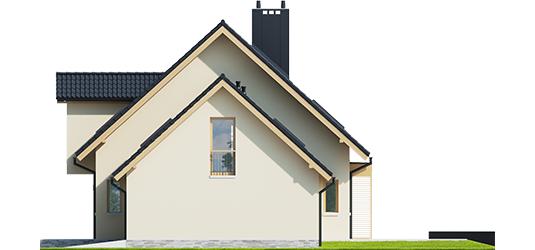 Мансардный дом M011 -189,23 м²