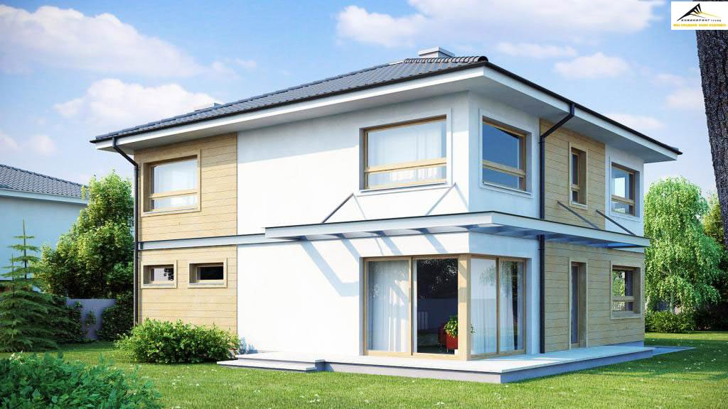 Двухэтажный дом P007