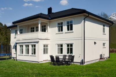 Двухэтажный дом P014