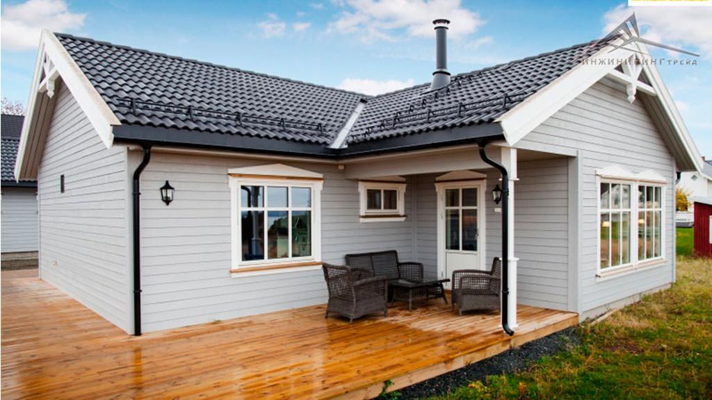 Одноэтажный дом B001 -103,2 м²