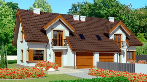 Дом на две семьи H007