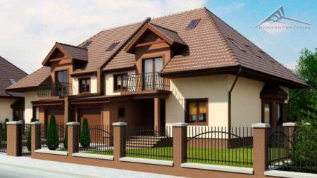 Дом на две семьи H002